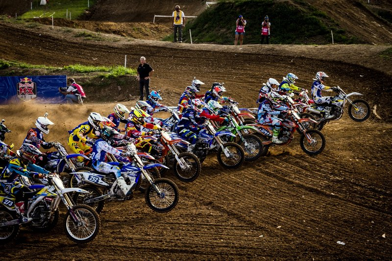 Red Bull MX Superchampions 2015 - la partenza